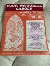 YOUR FAVOURITE CROLS , Stuart Wade, vocal / piano WITH COMPLETE WORDS