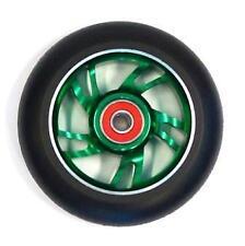 BulletProof Scooter Wheel - Alloy Metal Core - 110mm - ABEC 9 Bearings - GREEN