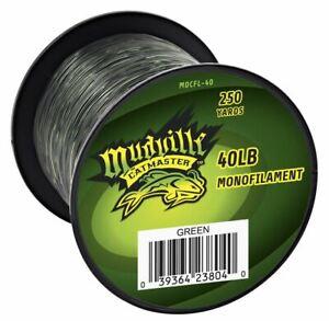 Mudville Catmaster 40lb Green Monofilament Catfishing Line 250-Yard Spool