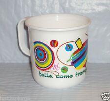 New TUPPERWARE Mug Coffee Cup Microwave Reheatable Mexican Centennial Toy Design