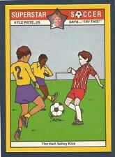 COLONIAL-SUPERSTAR SOCCER-1976- #21-THE HALF-VOLLEY KICK
