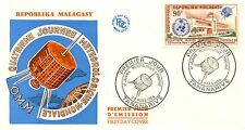 FIRST DAY COVER PREMIER JOUR MADAGASCAR 4° JOURNEE METEOROLOGIQUE MONDIALE 1964