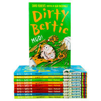 Dirty Bertie Series 1 Collection David Roberts 10 Books Set