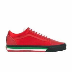 Vans Old Skool (TKO) Men's Shoes Size 10.5 Racing Red/Black VN0A38G1SI9 (NEW)