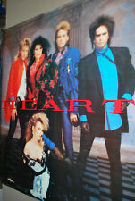 Heart 1985 promotional poster LARGE