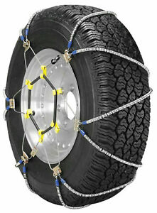 """BRAND NEW """"SUPER Z LT"""" SNOW ICE MUD TRACTION CHAIN SET-FITS MULTIPLE SIZE TIRES"""
