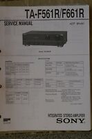 Service Manual für Sony TA-F561R / F661R