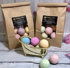 Mini Bath Bomb Bulk Pack,Natural, Handcrafted, Kunani, Vegan,Palm Free