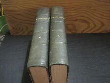R.P Henrici KILBER S.J.: Analysis Biblica .2 volumes reliés 1856 (en latin)
