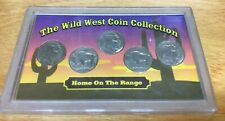 """The Wild West Coin Collection """"Home on the Range"""" 5 Pc Buffalo Nickel Set 👀"""