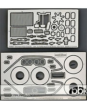 1/24 1970 FORD MUSTANG BOSS 302 DETAIL UP PHOTO ETCH SET for REVELL