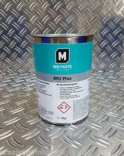 Molykote BR2 Plus Hochleistungsfett Gleitlagerfett Schmierfett fett Dose 1kg
