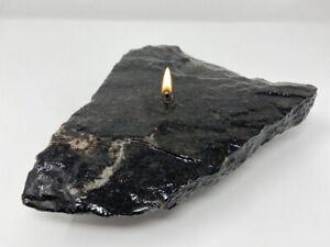 Unique Stone Oil Lamp Candles