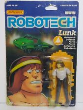 Robotech Matchbox Harmony Gold Lunk Figure New On Card