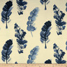 WAVERLY Genevieve Gorder feather fall Indigo fabric by the yard