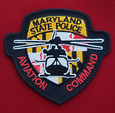 Maryland State Trooper Aviation Commando Police Patch  #PUS1