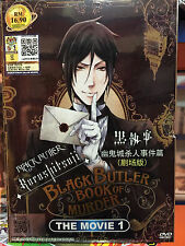 DVD Anime Black Butler : Kuroshitsuji Book of Murder (The Movie 1)