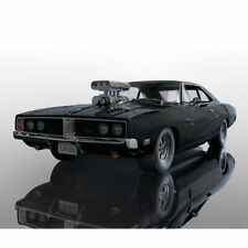 SCALEXTRIC SLOT CAR C3936 DODGE CHARGER (Noir Brillant) avec ventilateur