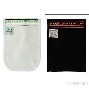 2 X Turkish Black Peeling Glove Bath Scrub Hamam Spa Exfoliator Kese Massage