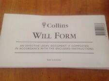 Collins Will Form