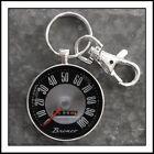 Vintage Ford Bronco Speedometer Photo Keychain Pendant Gift 🐴