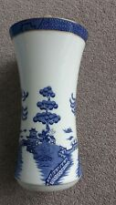ROYAL DOULTON Booths 'Real Old Willow' vase. 1981