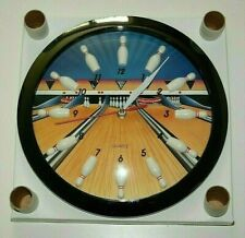 Very Cool Vintage Bowling Ball Wall Clock NOS