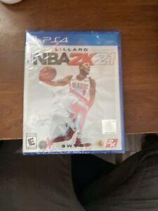 NBA 2K21 - Sony PlayStation 4 - PS4 - Brand New, Sealed - Free Shipping!
