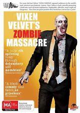 Vixen Velvet's Zombie Massacre (DVD, 2016) (Region 4) Aussie Release