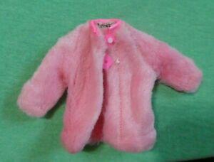 Vintage Skipper Doll - MOD Era Skipper  Sears 1513 Young Ideas Pink Fur Coat