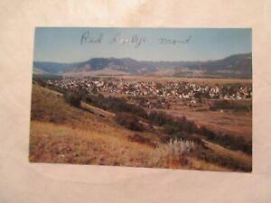 Montana Postcard Red Lodge MT