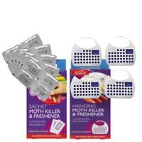 Acana Sachet and Hanging Moth Killer Proofer Lavender Freshner Combo Pack offer