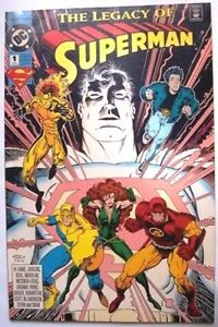 COMICS: DC -  THE LEGACY OF SUPERMAN#1  :  -1993  1st Print