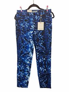 NWT Anne Klein Skinny 5 Pocket Jeans Blue Tie Dye Size 4 Missy