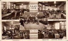 Southampton NAAFI Club by Photochrom. Games Room, Lounge, Ball Room, Tavern &c.