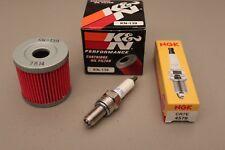 LTZ400 Tune Up Kit NGK CR7E Plug K&N Oil Filter LTZ 400 KFX400 z400 DVX400 DVX