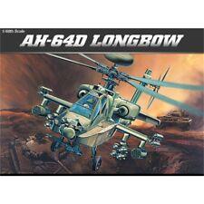 Academy 1/48 Ah-64d Longbow # 2125 - 148 Ah64d Model Kit 12268 Helicopter
