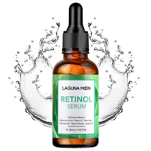 Retinol Serum Anti Aging Reduce Wrinkle Acid Collagen Production 30ML LAGUNAMOON