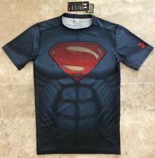 ⚡ Under Armour Henry Cavill's SUPERMAN / JUSTICE LEAGUE Shirt - Large (L), RARE!