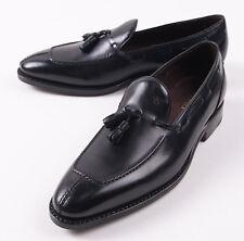 NIB $895 CANALI 1934 Goodyear-Welt Black Leather Tassel Loafer US 6.5 D Shoes