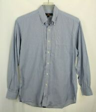 Member's Mark Men's Shirt Striped Blue Size L