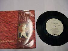 "ANGELA KASET Something In Red 1991 UK 7""/45 – RARE! BARGAIN!"