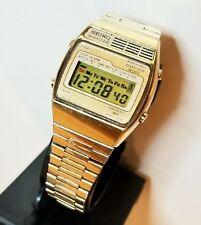 Vintage Seiko Digital LCD A159-4029 Alarm Quartz LC in good working condition
