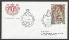 Sovreign Military Order of Malta 1977 Christmas FDC