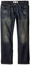 Levis Boys Jeans 514 Straight Leg Slim Fit Adjustable Waist Husky 8 12 14 16