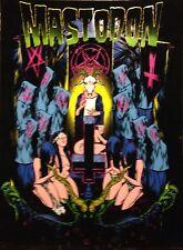 Mastodon Blacklight Poster Heavy Metal Band Music Rock Evil Devil Rare