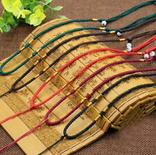 5X Handmade Braided Line Rope String Cord Jade Beads for Pendant Necklace Gift