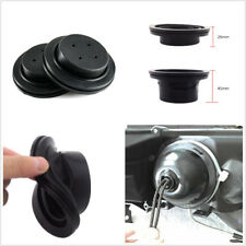 2 Pcs Black Rubber Car SUV Headlights HID Conversion Re-seal Seal Cap Dust Cover