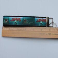 Jaws Key Fob Grosgrain Ribbon Webbing Keychain Wristlet