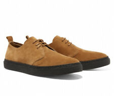 Fred Perry Linden Suede Shoes Ginger Mens Size UK 8 EU 42 RRP £95 BNWT
